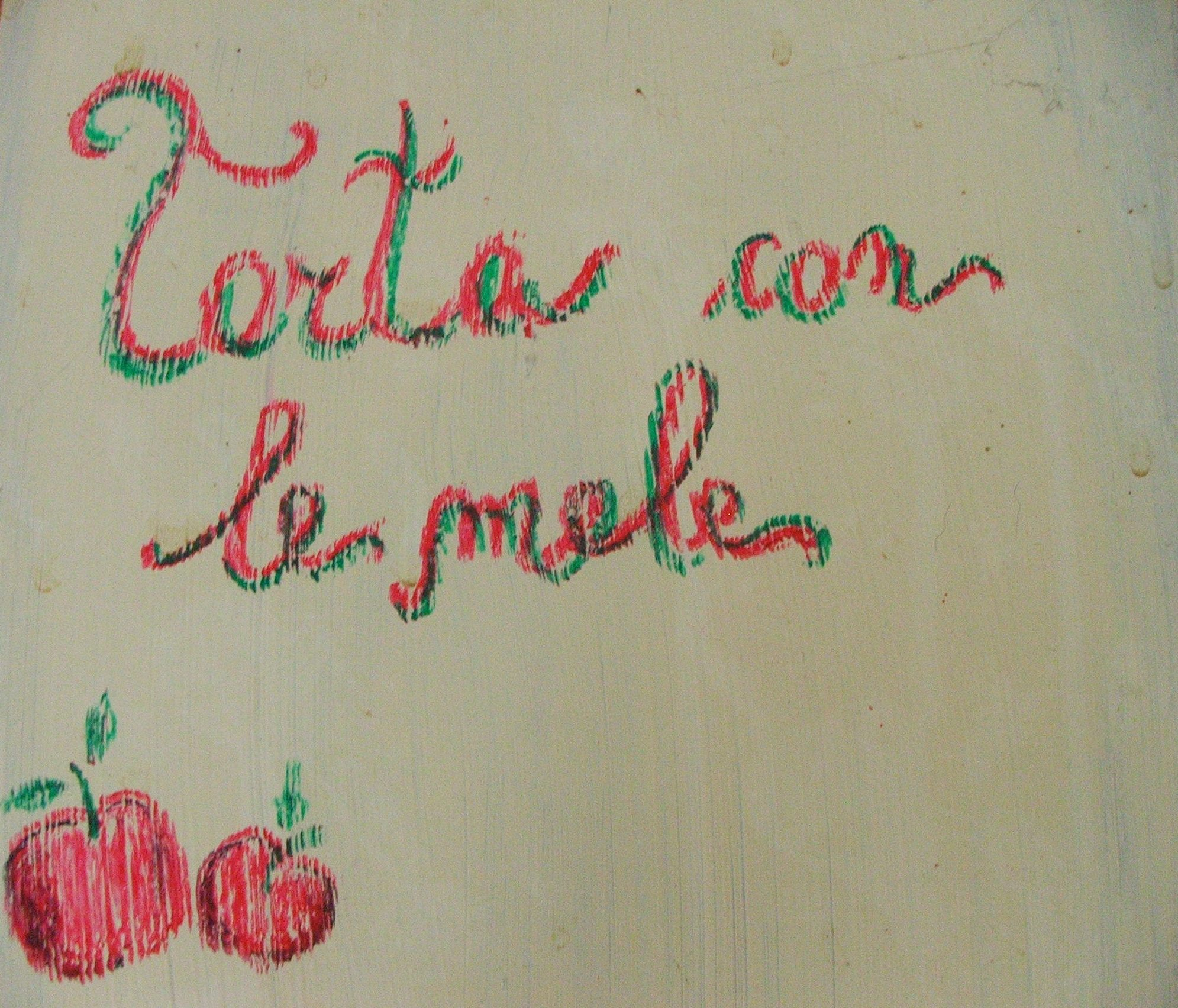 Torta profumata con le mele_fotografia Cristina Principale