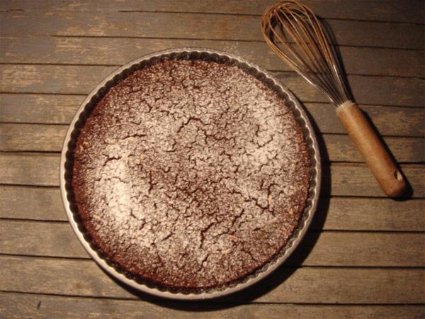 Castagnaccio al cacao