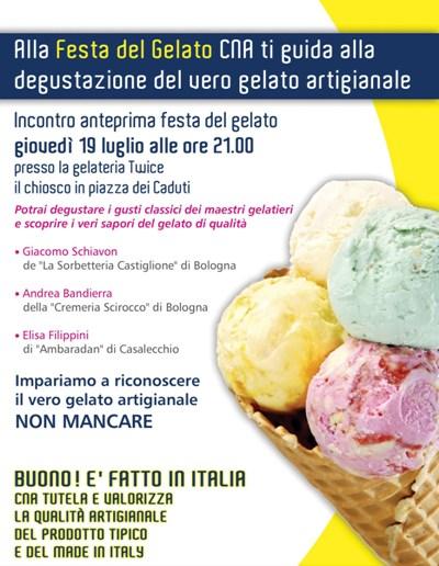 festa del gelato CNA Bologna