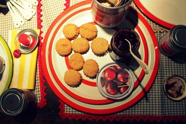 Scones a casamanu con marmellata di ciliegie_fotografia Cristina Principale