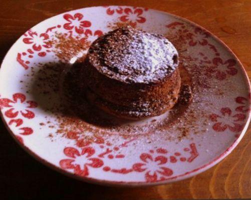 Tortino al cioccolato di casamanu catering&food design