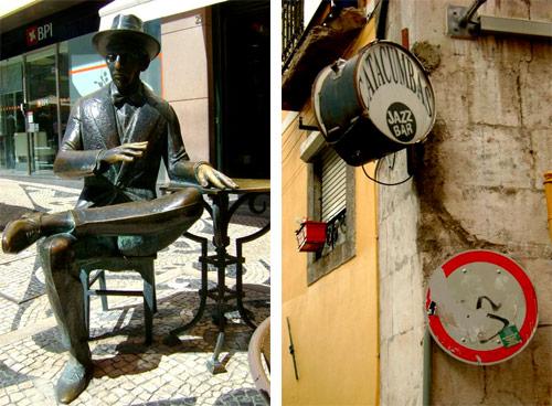 Per le strade di Lisbona.
