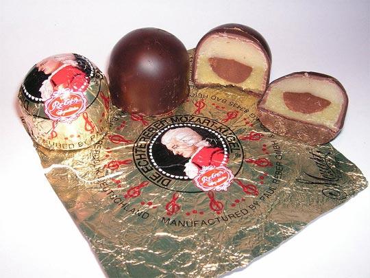 Il Mozartkugel, il cioccolatino di Mozart