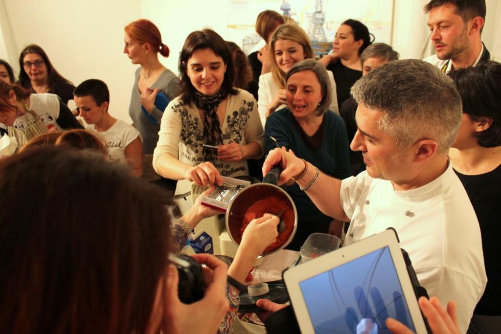 Lezione di gelato con Andrea Bandiera_Le Club des Pirottines_fotografie Cristina Principale