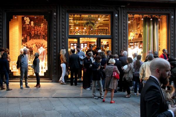 Inaugurazione Brooks Brothers Flatiron Shop con casamanu catering_fotografie Cristina Principale
