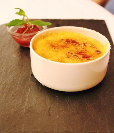 Dessert dello chef Massimiliano Poggi Ristorante al Cambio Bologna_fotografia Cristina Principale