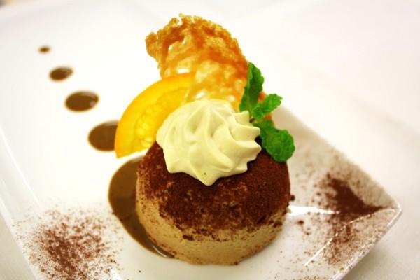 #Godo con lo Chef Carli: Tortina di mascarpone, mousse di caffè e croccante all'arancia