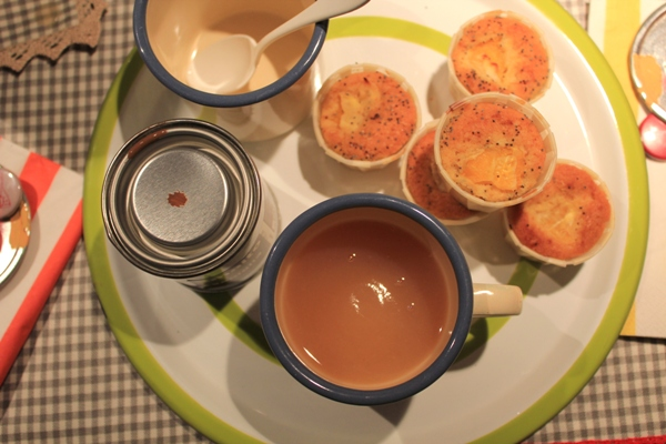 Merenda a Casamanu con Mini Muffin e frullatino d'albicocche_fotografie Cristina Principale